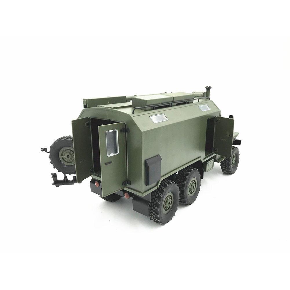 WPL modèle B36 RC camion voiture sur chenilles Mini tout-terrain télécommande 1:1 contrôle Ural véhicule militaire escalade adulte jouet bricolage RTR Carro Eletrico - 4