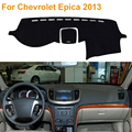 2016 Car Styling Poliéster Sombra Protectora Dashboard Mat Cojín Pad Photophobism Alfombra Interior Para Chevrolet Epica 2013 LHD
