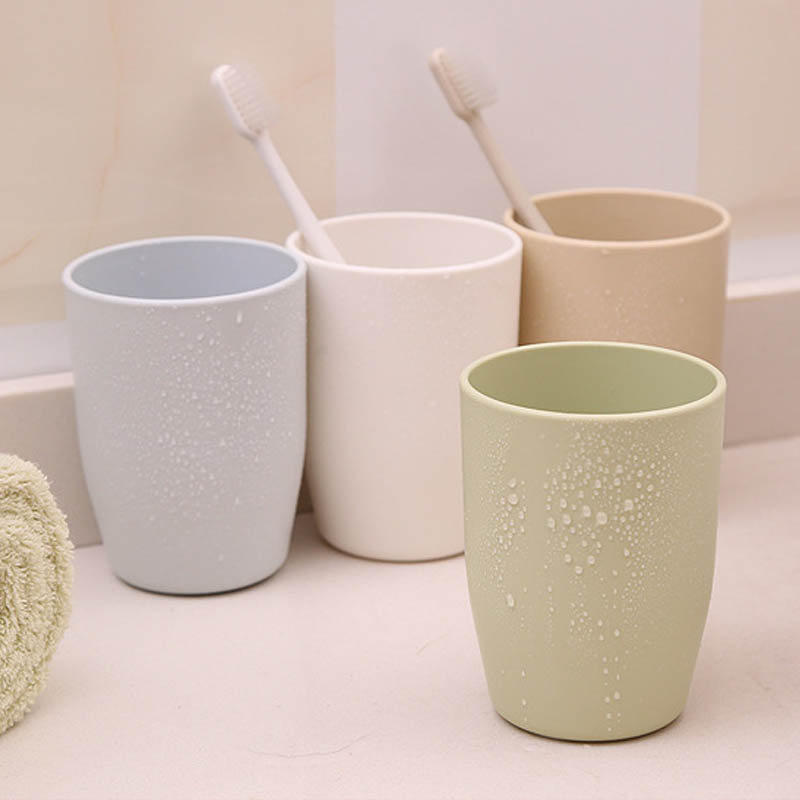 1Pcs Eco-friendly Japanese-style Wash Tooth Mug Portable Plastic Toothbrush Holder Rinsing Cup Sets Home Bathroom Accessories