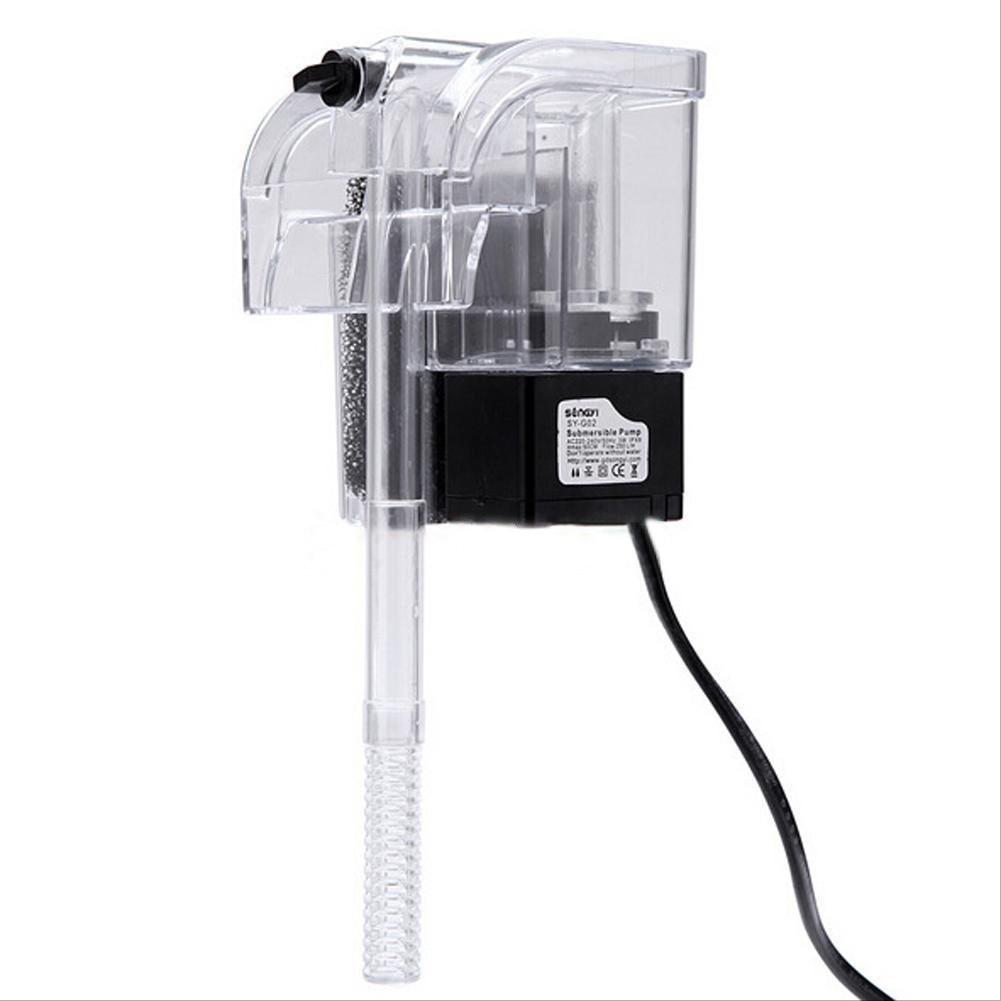Jebao aquarium external fish tank filter review - Hot External Oxygen Pump Waterfall Fish Tank Filter 3w 220v 240v Noiseless Aquarium Filter Cleaning