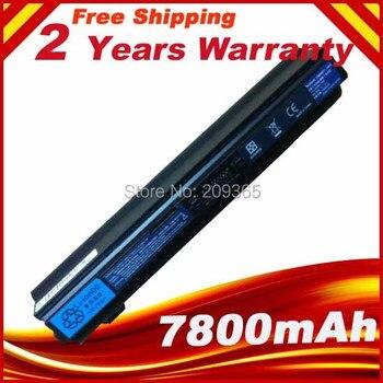 7800mAh 9 CELL Laptop battery UM09E31 UM09E32 UM09E71 UM09E36 for Acer Aspire 1410 1810T 1810TZ Black