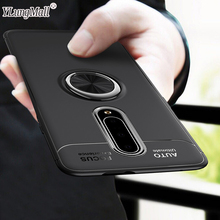 Luxury Shockproof Soft Holder Case On The For Fundas Oneplus 7 Pro Full Cover 6 6T Magnetic Ring Bracket