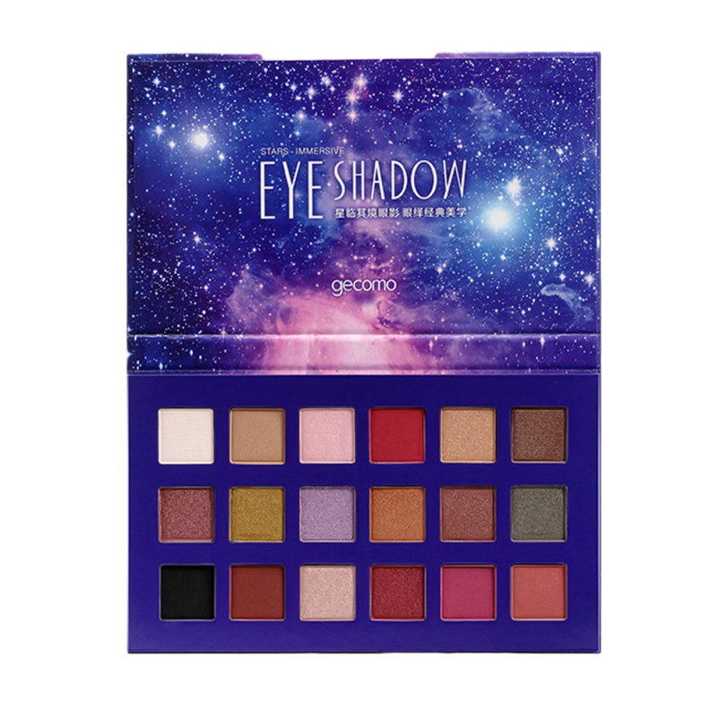 18 Color Shimmer And Matte Pigment Eyeshadow Palette Long-Lasting Makeup Cosmetic Eye Shadow Hot!
