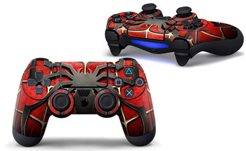 Spiders Design Skin Sticker For PS4 Controller Decal Stickers For Playstation4