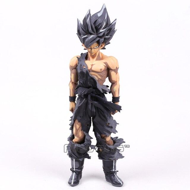 Dragon Ball Z Estrelas Mestre Pedaço MSP The Son Goku Preto PVC Figure Collectible Modelo Toy 24 cm