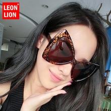 LeonLion 2018, gafas De Sol clásicas De lujo con montura grande, gafas Retro De plástico para mujer, gafas De Sol Vintage De mariposa para exteriores UV400