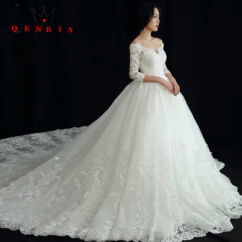 Aliexpress.com : Buy Custom Made Ball Gown Big Train Tulle