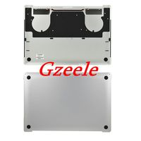 GZEELE New For Macbook Pro Retina 15 Touch Bar A1707 Lower Bottom Case Cover Late 2016 2017 silver color