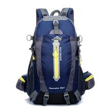 40l wasserdichte reise rucksack camp hike mochilas masculina laptop daypack trekking klettern back taschen für männer frauen 2017