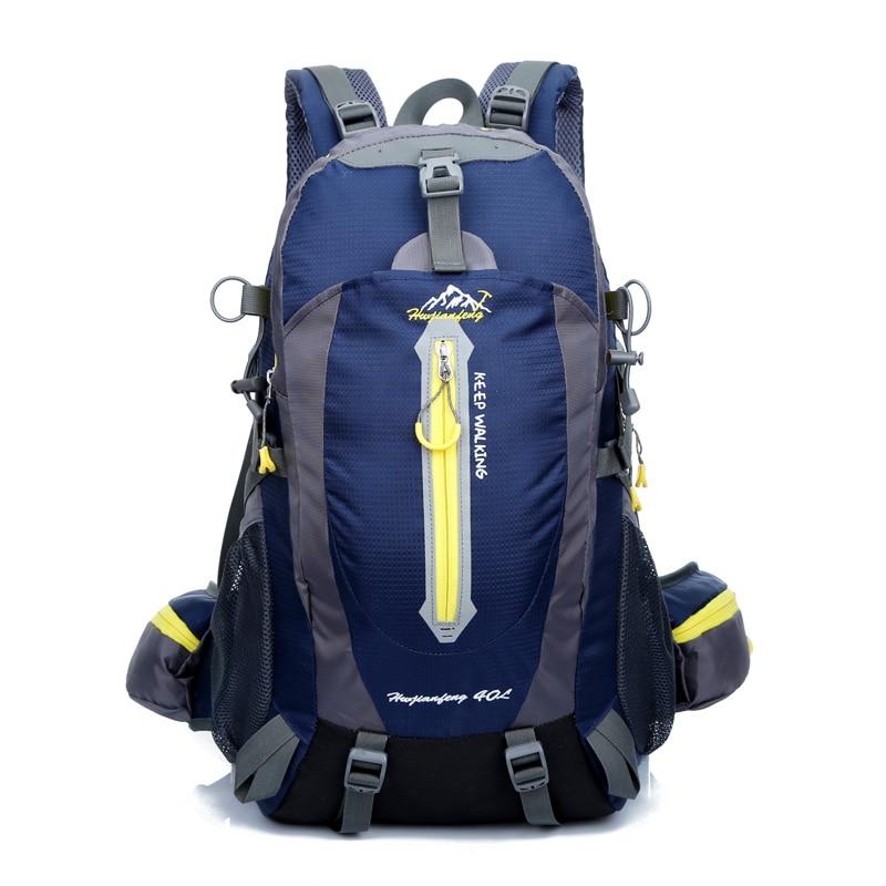 40L Waterproof Travel font b Backpack b font Camp Hike Mochilas Masculina Laptop Daypack Trekking Climb