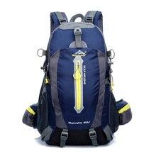 40l impermeable mochila de viaje mochilas masculina portátil mochila mochila de trekking campamento hike climb back bolsos para hombres mujeres 2017