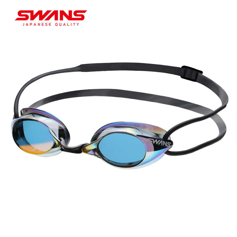 SWANS Made In Japan Swimming Professional Glasses Arena Racing Game Swimming Anti-fog Glasses Swimming Glasses Colorful SR-1M