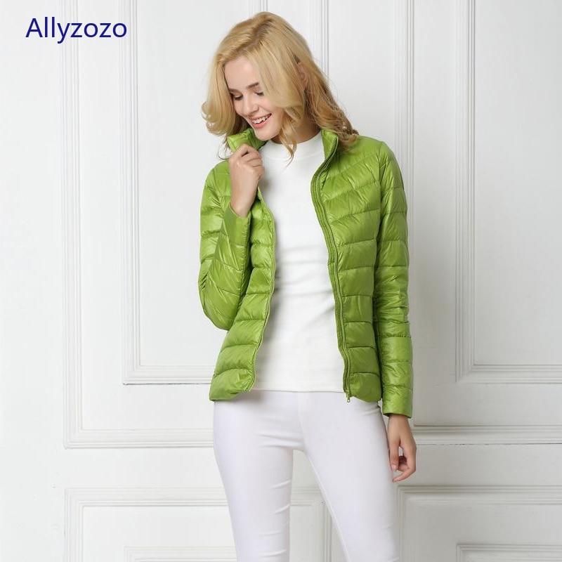 Winter Duck   Down   Jacket Women Light   Coat   Female Warm Parkas for Women's Outwear 90% White Duck   Down   High Quality