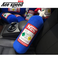 Ace speed-JDM NOS Pillow Nitrous oxide bottle H20 Cushion toy Novelty Gift