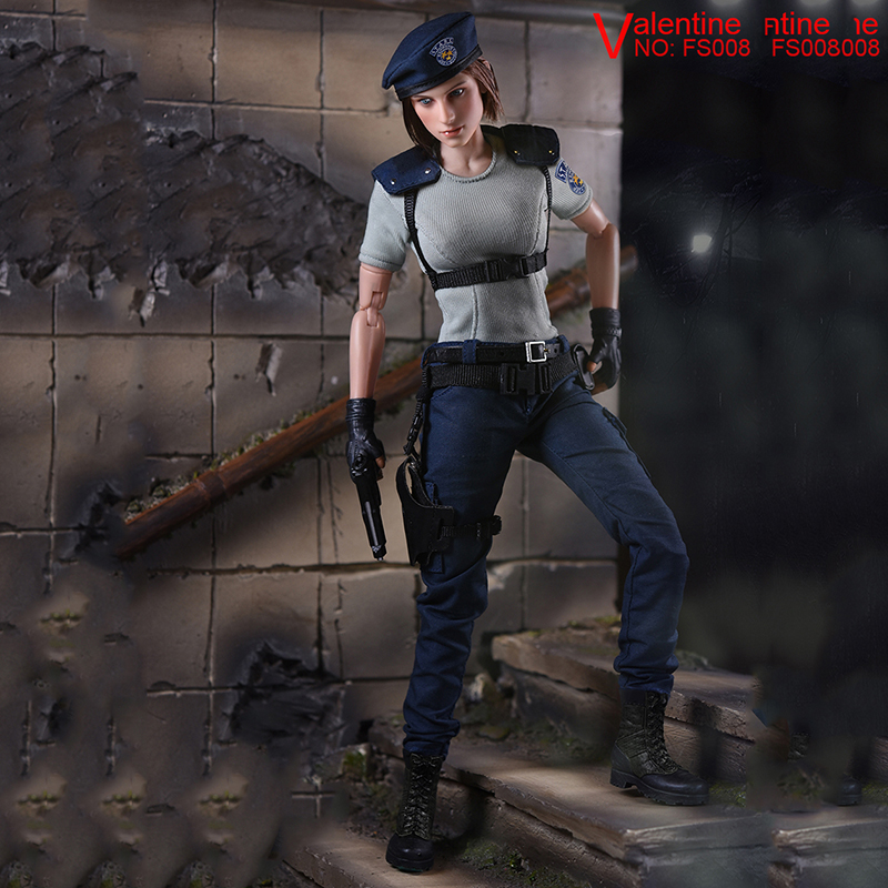Collectible 1/6 Jill Valentine Action Figure Resident Evil Model Toys Feamle Full set figures in Stock 1 6 scale resident evil 6 leon scott kennedy full set action figure for collections