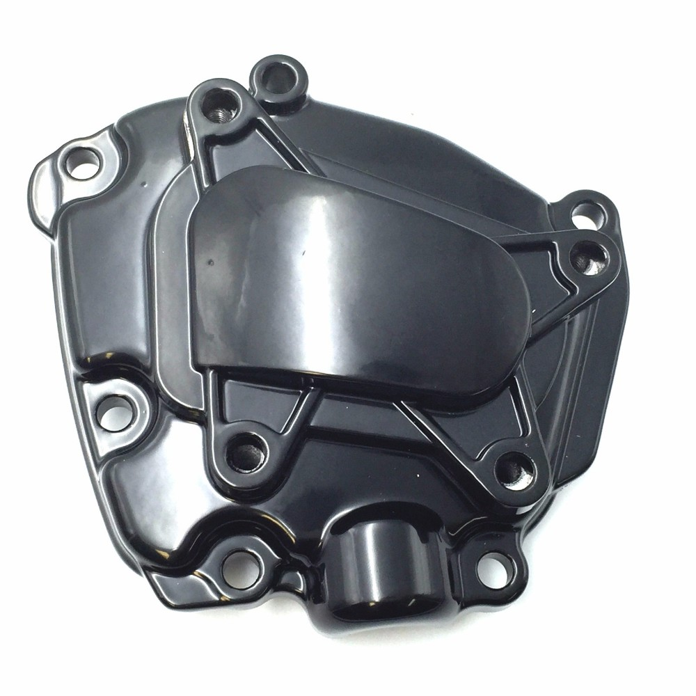 Послепродажного бесплатная доставка мотоцикл аксессуары двигателя статора крышка для 2009 2010 2011 2012 Ямаха YZF-R1 в 2013 2014 черный