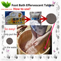 3 pack Foot Bath Effervescent TabletsSpa Foot Bath effervescent tablets for feet itching foot wash