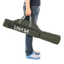 Lixada Fishing Bag Portable Folding Rod Reel Pole Gear Tackle Tool Carry Case Travel Storage Organizer