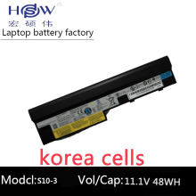 HSW 11.1V 48WH 6cells laptop battery for Lenovo IdeaPad S100 S10-3 S205 S110 U160 S100c S205s U165 L09S6Y14 L09M6Y14