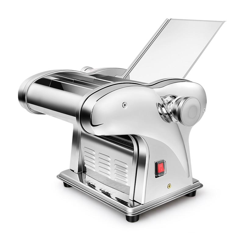 220V Multifunctional Electric Noodle Maker Machine Wonton Dumpling Skin Maker Thickness Adjustment Press Dough Make Noodles
