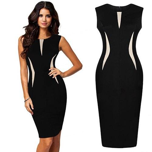 B smart black dress 2017