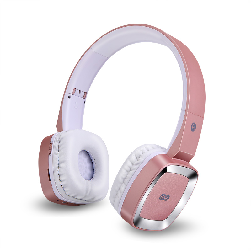 50Pcs T6 Bluetooth Wireless Headphone Stereo Music Headset with Microphone  headband style earphone for iPhone  Huawei xiaomi