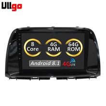 Cheap 9'' Android Autoradio for Mazda CX-5 2013 2014 Car Radio GPS Casstte Player Car Headunit Multimedia with 4GB RAM/64GB ROM/8 core