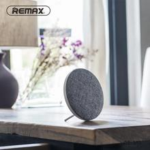 Remax RB-M9 Portable Mini Wireless Bluetooth Speaker Loudspeaker Home Theater HiFi Subwoofer Music Creative Gifts lonpoo 2017 newest bookshelf speaker 2 way 75w classic wooden loudspeaker for home theater system black