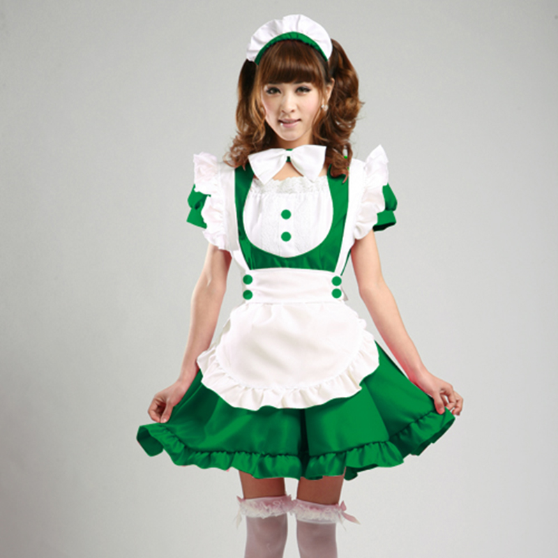 high quality Lolita Cute maid costume Oktoberfest Party club Waiter clothing Halloween maid Cosplay Anime performance Uniform