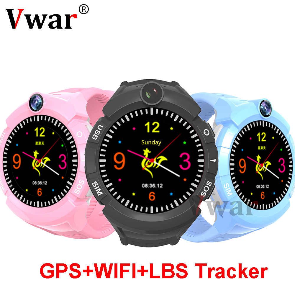 Vm50 Q360 Smart Baby GPS Watch with Camera Child smartwatch SOS Anti-Lost Monitor Tracker Watches Phone for kids PK Q528 Q750