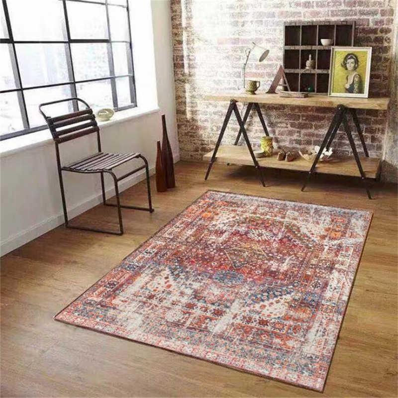 200x300 cm poliéster estilo americano tapetes para sala de estar clássico macio casa tapete porta do assoalho decorar casa antiderrapante