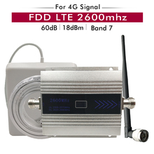 4G Signal Repeater FDD LTE 2600mhz  (LTE Band 7) Cell Phone Booster 2600 Network Data Cellular Amplifier Antenna kits