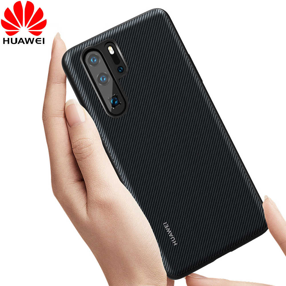 Huawei P30 Pro Case Original Huawei P20 Lite Leather Back Cover P30 Lite Funda Carcasa P20 Pro Full Protective Phone Capa Cases
