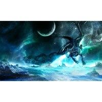 Số 2 thế giới of Warcraft playmat, trò chơi World of warcraft, bảng trò chơi thẻ Worldcraft thẻ Playmats thể được tùy chỉnh in