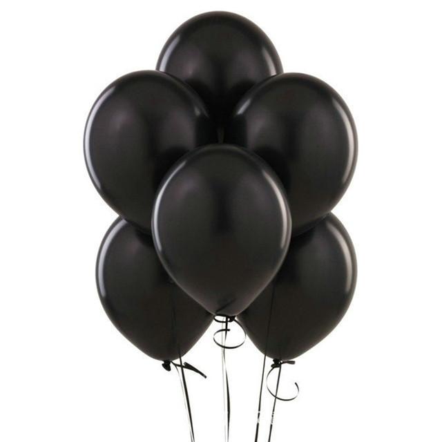 Black Latex Balloons 10 pcs/lot