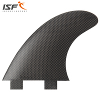 Free shipping carbon fiber fcs surfboard fins thruster FCS G7 large fiberglass Quilhas pranchas de paddle surf fins G7