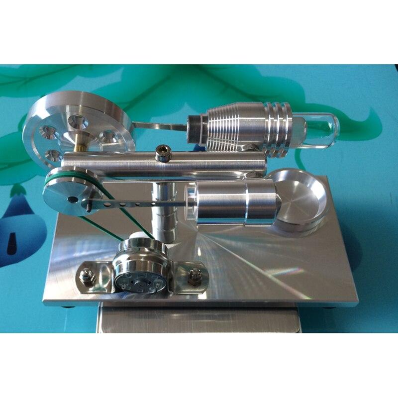 c63609f8b11 Cool! miniatura  Little e GRANDE Tigre do motor Stirling motor gerador de motor  Stirling modelo hobby Kits de Brinquedos Educativos em Kits Modelo De ...