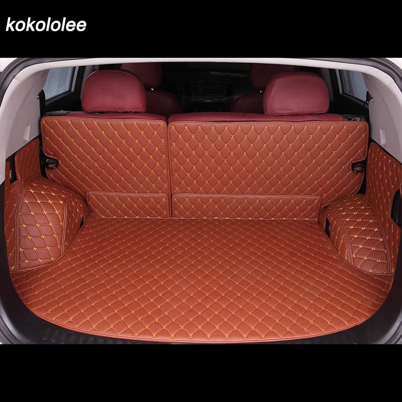 Custom car trunk mat for Honda all model accord odyssey fit city Crosstour Crider VEZEL Avancier