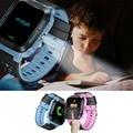 Crianças smart watch nova estação base lbs localizador localizador rastreador dispositivo de chamada sos monitor remoto seguro criança relógio com lanterna