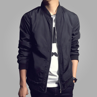 2015 New Arrival Men S Jackets Solid Fashion Coats Male Casual Stand Collar Jacket Mens Outerdoor
