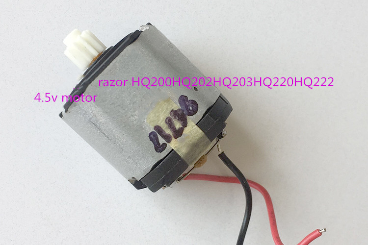For razor HQ200HQ202HQ203HQ220HQ222 three-section dry battery <font><b>4.5v</b></font> <font><b>motor</b></font> image