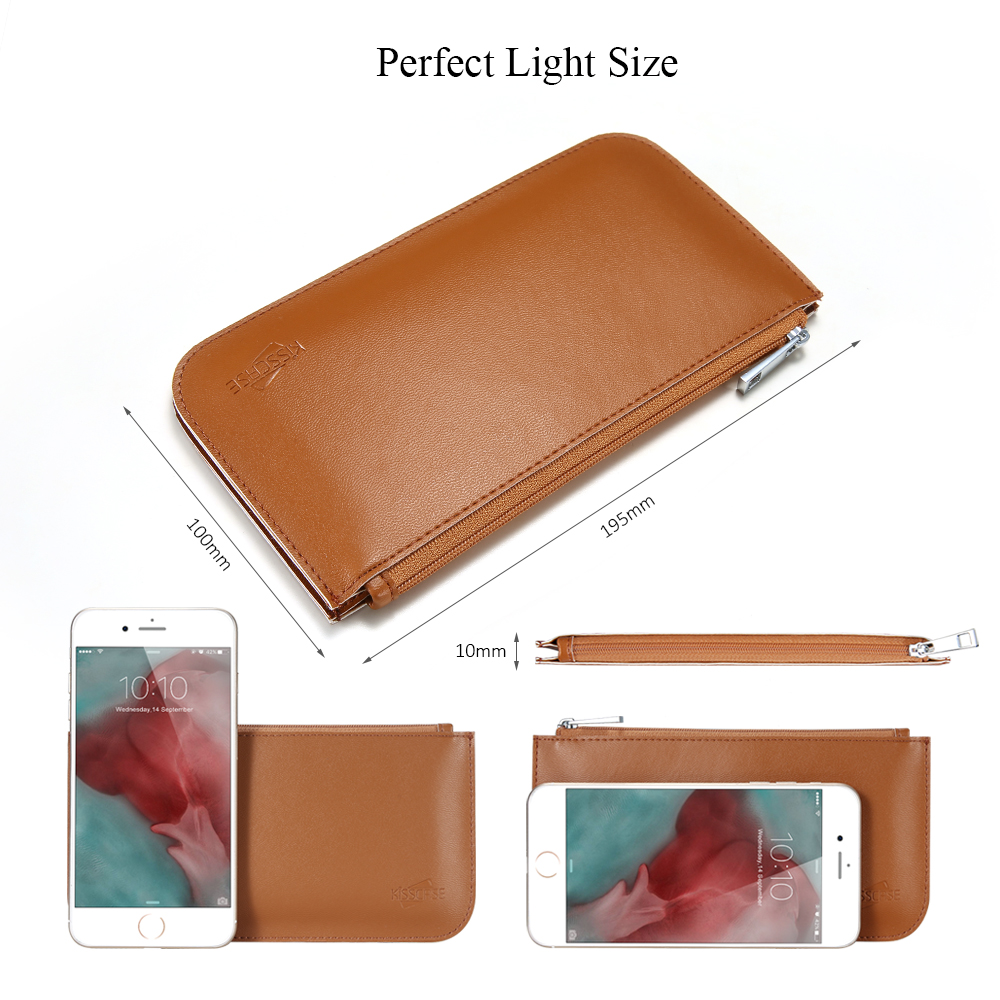buy online 6dfcd 2a8b1 Wallet Iphone 8 7 5S Case 5.5 Inch Universal Flip Cover For Iphone 5S 6 7  Leather Bag Case