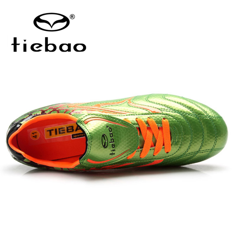 89e17ee0b TIEBAO Brand Chinese Professional Men Soccer Shoes AG Soles Football Boots  Outdoor Sport Adult Sneakers EUR 39 43-in Soccer Shoes from Sports ...