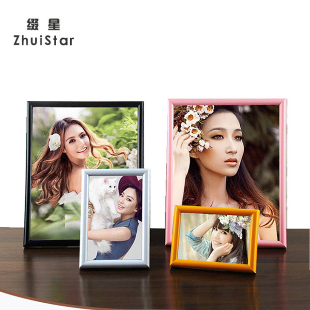 13 Colors Plastic Studio Photo Frame With Size 5 6 7 8 10 12 16 20 ...