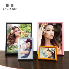 13 Colors Plastic Studio Photo Frame With Size 5 6 7 8 10 12 16 20 inches A3 A4 Picture Frame Table Decor Creative Home Decor
