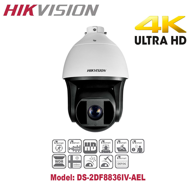 Hikvision English Version DS 2DF8336IV AELW 3MP High Frame
