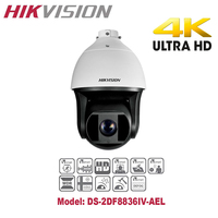 Hikvision English Version DS 2DF8336IV AELW 3MP High Frame Rate Smart PTZ Camera 36X Optical Zoom