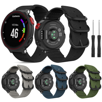 For Garmin Forerunner 735XT Nylon Band Outdoor Sport Watch Strap Wrist Bands for Garmin forerunner 220 230 235 620 630 Bracelet