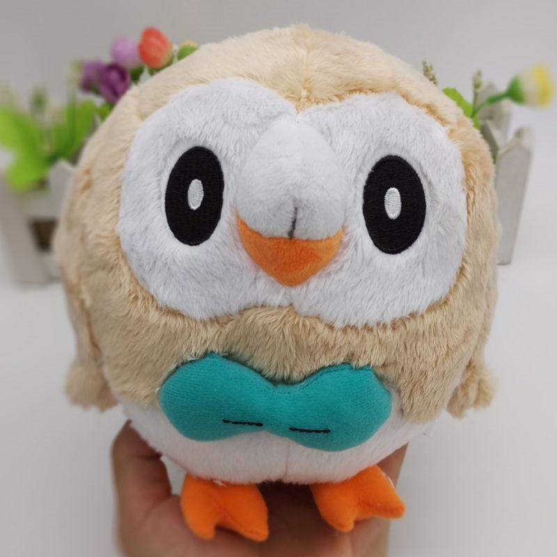 20cm Pokemon Rowlet Stuffed Plush Toy Doll NEW Christmas Kids Gift Anime