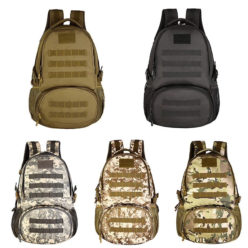 Sports & Entertainment Climbing Bags Aggressive Military Backpack/tactical Gear Molle Student School Bag 35l Assault Backpack/rucksack Bag For Shotting Hunting Camping Hiking Agreeable Sweetness